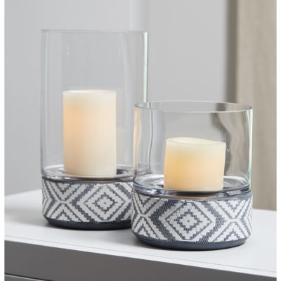 Signature Design By Ashley® Set of 2 Dornitilla Candle Holders