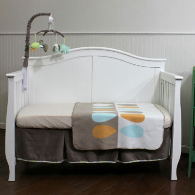 Nurture Basix Cocoa Leaf Organic 4 Piece Bedding Set