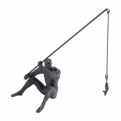 Fisherman Figurine