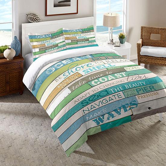 Laural Home Ocean Rules Comforter