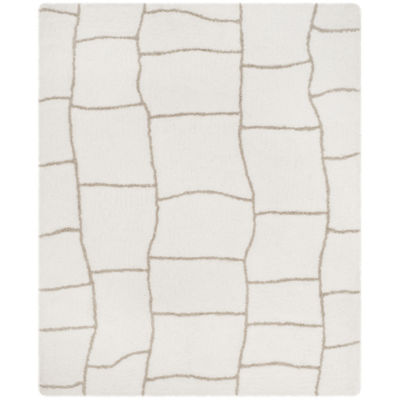 Safavieh Toronto Shag Collection Emerson Geometric Area Rug