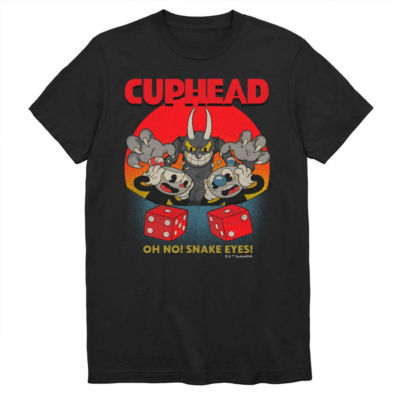 Cuphead Snake Eyes Graphic Tee