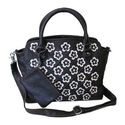 Amerileather Stellix Leather Handbag