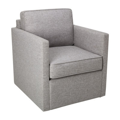 HomePop Modern Accent with Swivel Base