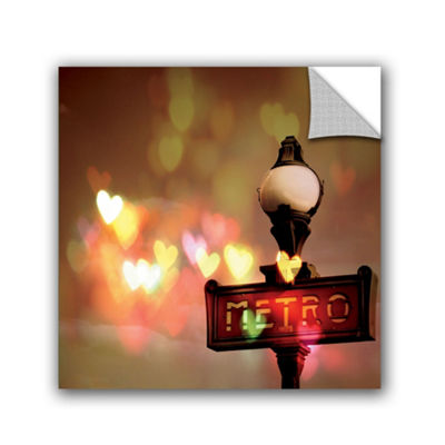 Night Life Paris Removable Wall Decal