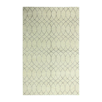 Marilyn Wool And Viscose Hand Tufted Area Rug