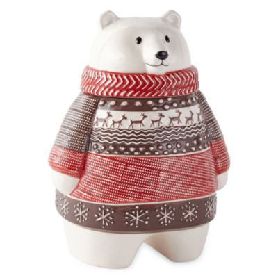North Pole Trading Co. Cookie Jar