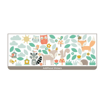 Brewster Wall Woodland Tree & Friends Wall Stickers Wall Decal