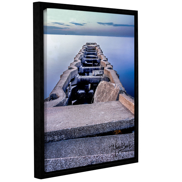 ANCIENTPIER Floater-Framed Gallery Wrapped Canvas