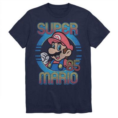 Super Mario Bros Retro Graphic Tee