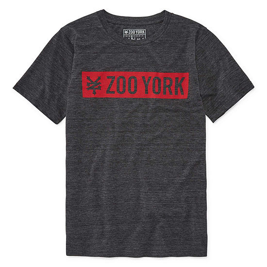 Zoo York Boys Crew Neck Short Sleeve Graphic T-Shirt