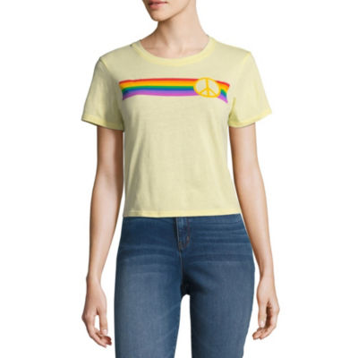 Peace Cropped Tee - Juniors