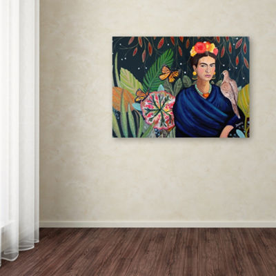 Trademark Fine Art Sylvie Demers Frida Giclee Canvas Art
