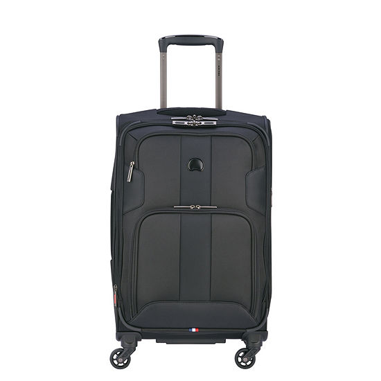 Delsey Sky Max 21 Inch Expandable 4-Wheel Spinner Carry-on Luggage