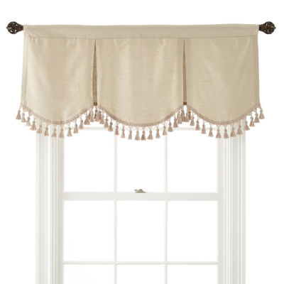 JCPenney Home Supreme Rod-Pocket Frontenac Valance