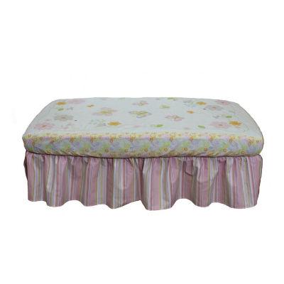 Nurture Basix Pink Stripe 2 Piece Crib Bedding Starter Set