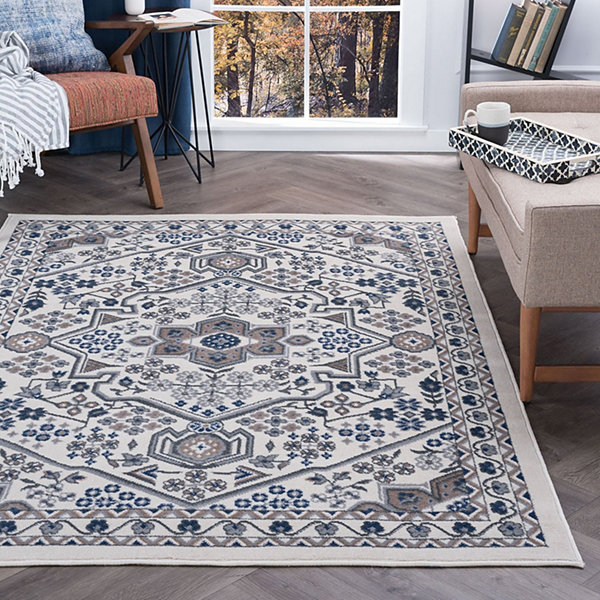 Tayse Logan Traditional Oriental Area Rug