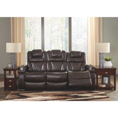 Signature Design By Ashley® Warnerton Power Reclining Sofa
