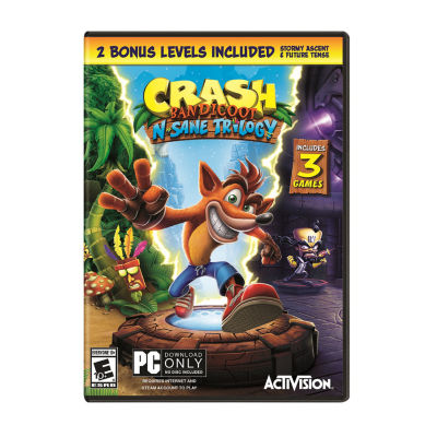 Crash Bandicoot N. Sane Trilogy - Pc Video Game