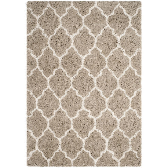 Safavieh Toronto Shag Collection Nanda Geometric Area Rug