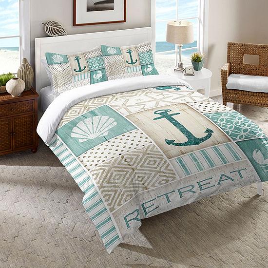 Laural Home Coastal Retreat Comforter