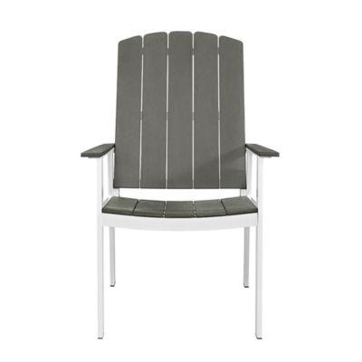 Coastal Set of 2 Patio Dining Chairs