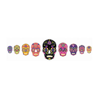 Brewster Wall Skulls Large Wall Art Kit Wall Decal