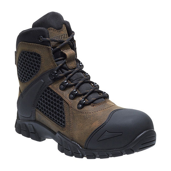 Bates Mens Shock Fx Comp Toe Waterproof Slip Resistant Work Boots
