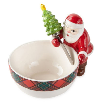 North Pole Trading Co. 2-pc. Dipping Bowl