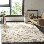 Safavieh Memphis Shag Collection Sandy Geometric Area Rug