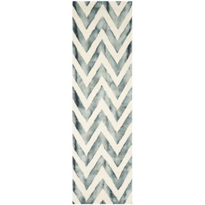 Safavieh Dip Dye Collection Ronnie Chevron RunnerRug