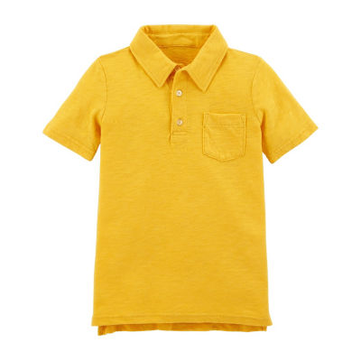 Carter's Short Sleeve Knit Polo T-Shirt - Preschool Boys