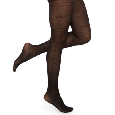 City Streets Halloween Skull Tights