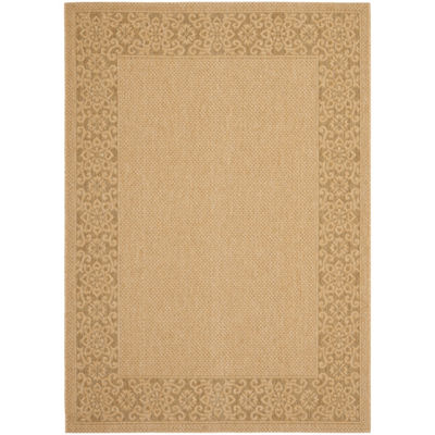 Safavieh Courtyard Collection Oswald Floral Indoor/Outdoor Area Rug