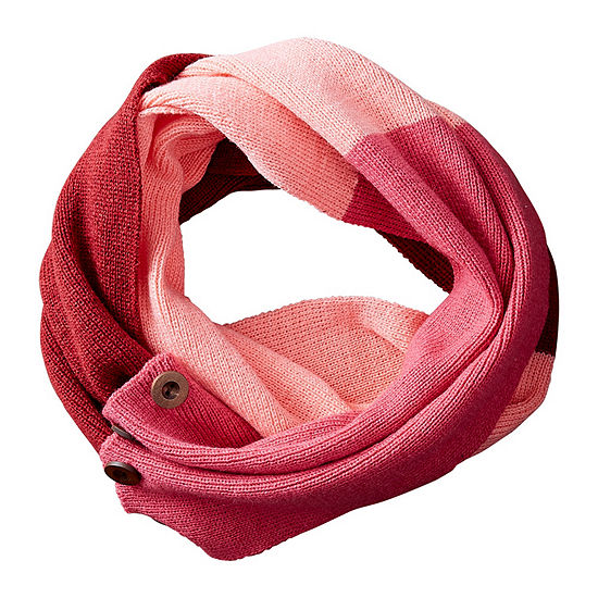 Tickled Pink Colorblock Cold Weather Scarf