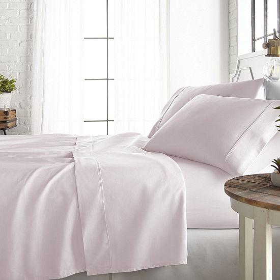 Casual Comfort Premium 800 Thread Count 4 Piece Cotton Rich Sheet Set