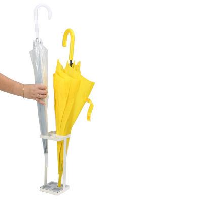 Mind Reader White Finish Umbrella Holder, White