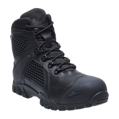Bates Mens Shock Fx Comp Toe Waterproof Slip Resistant Work Boots Lace-up