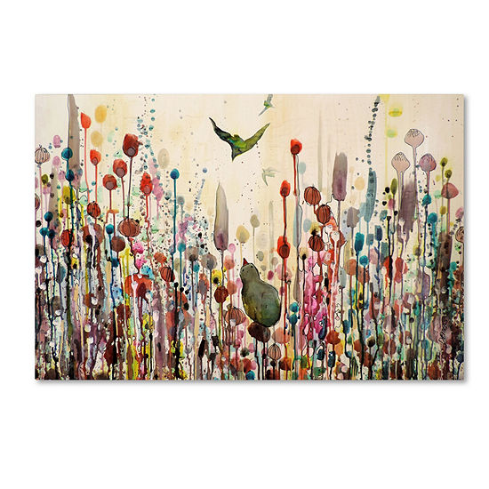 Trademark Fine Art Sylvie Demers Learning To Fly Giclee Canvas Art