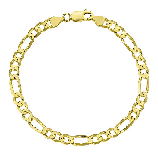 Womens 7 Inch 10K Gold Chain Bracelet JCPenney a036a756a9