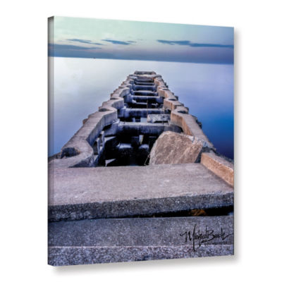 Brushstone Ancient Pier Gallery Wrapped Canvas