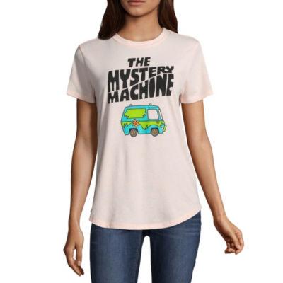 Scooby Doo Mystery Machine Tee - Juniors