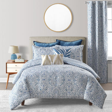 Liz Claiborne Aruba 3-pc. Embellished Reversible Comforter Set