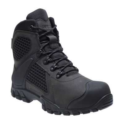 Bates Mens Shock Fx Waterproof Slip Resistant Work Boots Lace-up