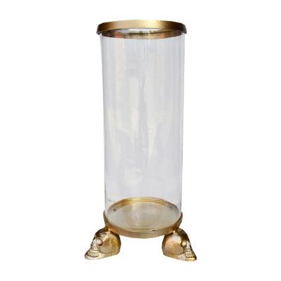 R16 Home Large Skull Cylinder Decorative Jar