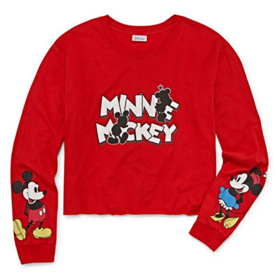 Mickey Mouse Cropped Tee - Juniors