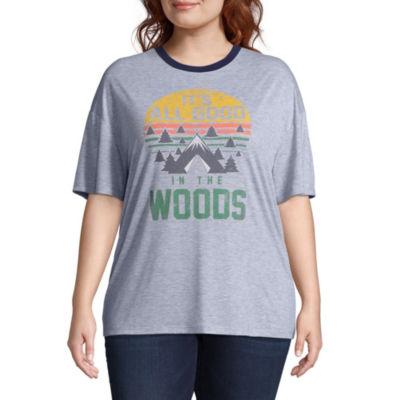 "Into the Woods"" Tee - Juniors Plus"