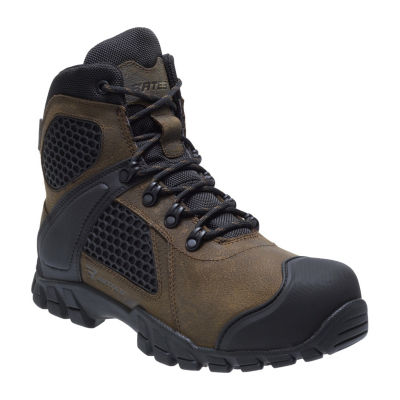 Bates Mens Shock Fx Work Boots Waterproof Slip Resistant Lace-up