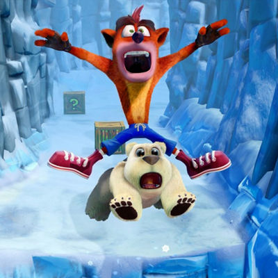 XBox One Crash Bandicoot N. Sane Trilogy Video Game