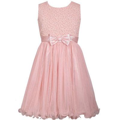 Bonnie Jean Sleeveless Skater Dress - Big Kid Girls Plus